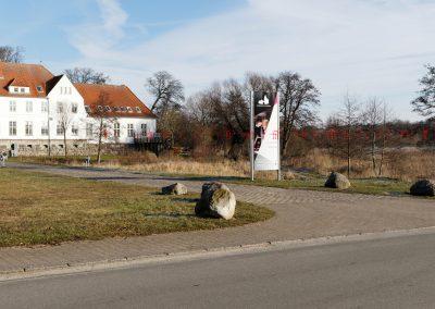 Nordborg Slot, 4MW. Afstand til nærmeste mølle: 7,4 km.