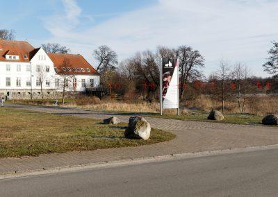 Nordborg Slot, 8MW. Afstand til nærmeste mølle: 7,4 km.